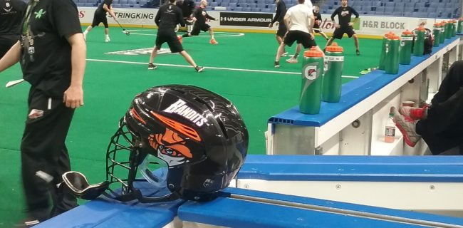 Photo of Buffalo Bandits Helmet