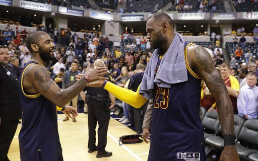 Photo of LeBron James & Kyrie Irving