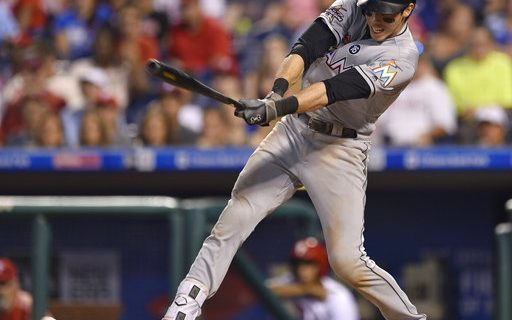 Photo of Miami Marlins player Christian Yelich