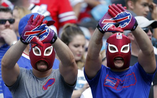 Photo of Bills Fans in Carolina