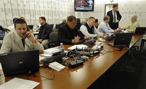 Photo of NFL Draft Room