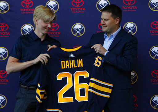 The Sabres change the subject